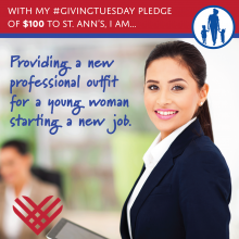 Giving Tuesday 2016 - $100 Gift