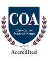 Accredited by the Council on Accreditation